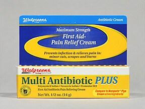 Multi Antibiotic Plus 3.5 mg-10,000 unit-10 mg/gram topical cream