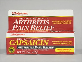 Arthritis Pain Relief (capsaicin) 0.1 % topical cream