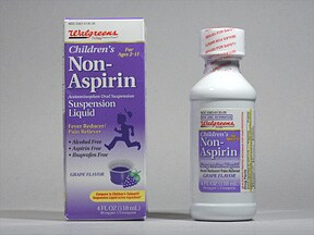 Children's Non-Aspirin 160 mg/5 mL oral suspension