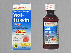 Wal-Tussin Max Strength Cough 15 mg/5 mL syrup