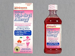 Wal-Dryl Allergy 12.5 mg/5 mL oral liquid