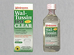 Wal-Tussin DM 10 mg-100 mg/5 mL syrup