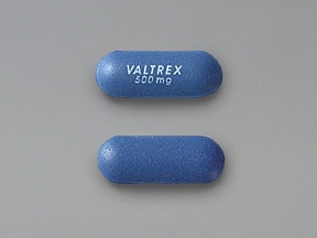 Valtrex 500 mg tablet