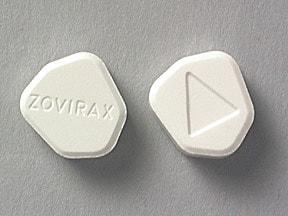 Zovirax 400 mg tablet
