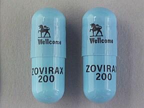 Zovirax 200 mg capsule