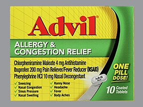 Advil Allergy-Congestion Relief 4 mg-10 mg-200 mg tablet