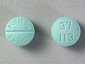 Butisol 30 mg tablet