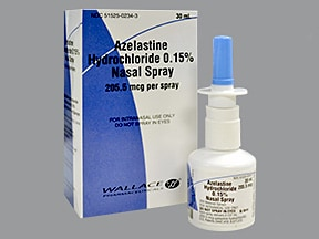 azelastine 0.15 % (205.5 mcg) nasal spray