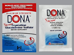 Dona 1,500 mg oral powder packet