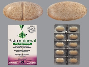 Estromineral 141 mg calcium-5 mcg-60 mg tablet
