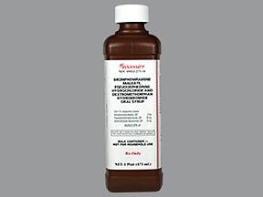 brompheniramine-pseudoephedrine-DM 2 mg-30 mg-10 mg/5 mL syrup