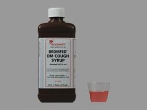 Bromfed DM 2 mg-30 mg-10 mg/5 mL syrup