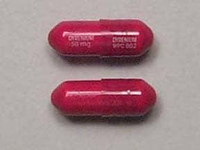 Dyrenium 50 mg capsule
