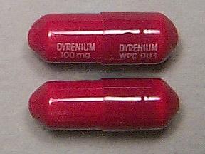 Dyrenium 100 mg capsule