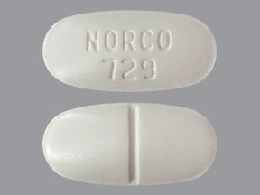 Norco 7.5 mg-325 mg tablet