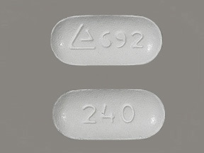 Matzim LA 240 mg tablet,extended release