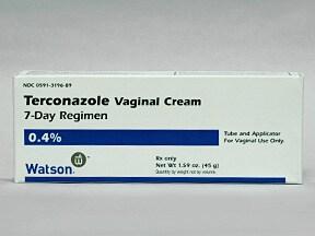 terconazole 0.4 % vaginal cream