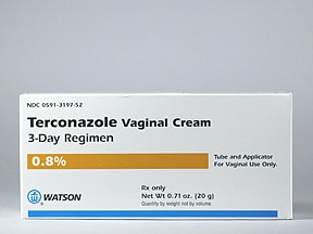 terconazole 0.8 % vaginal cream