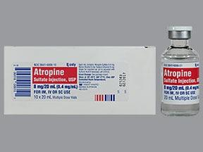 atropine 0.4 mg/mL injection solution