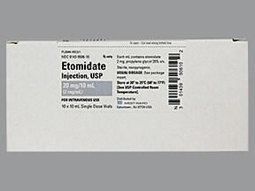 etomidate 2 mg/mL intravenous solution