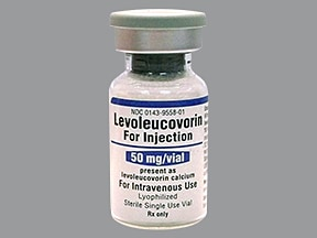 levoleucovorin 50 mg intravenous powder for solution