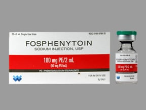 fosphenytoin 100 mg PE/2 mL injection solution
