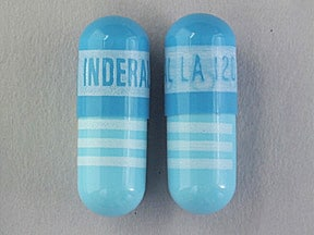 Inderal LA 120 mg capsule,extended release