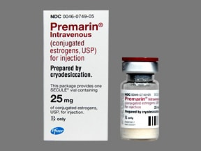 Premarin 25 mg solution for injection