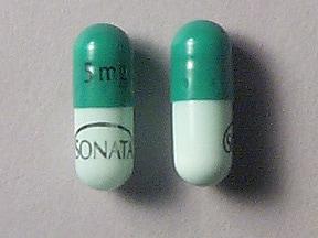Sonata 5 mg capsule