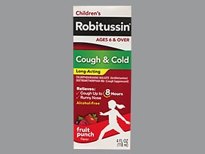 Robitussin Long-Acting 1 mg-7.5 mg/5 mL oral liquid