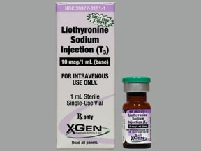 liothyronine 10 mcg/mL intravenous solution