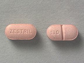 Zestril 5 mg tablet