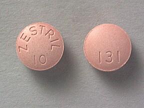 Zestril 10 mg tablet