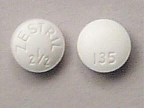 Zestril 2.5 mg tablet