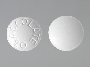 Accolate 20 mg tablet