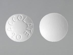 zafirlukast 20 mg tablet