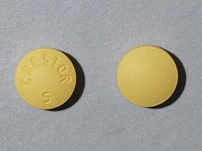 Crestor 5 mg tablet