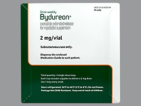 Bydureon 2 mg subcutaneous extended release suspension