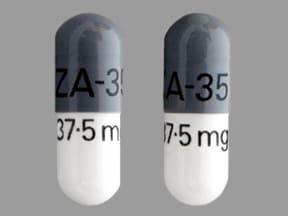 venlafaxine ER 37.5 mg capsule,extended release 24 hr