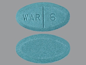 warfarin 6 mg tablet