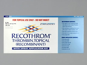 Recothrom Spray Kit 20,000 unit topical solution