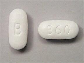 Cardizem LA 360 mg tablet,extended release