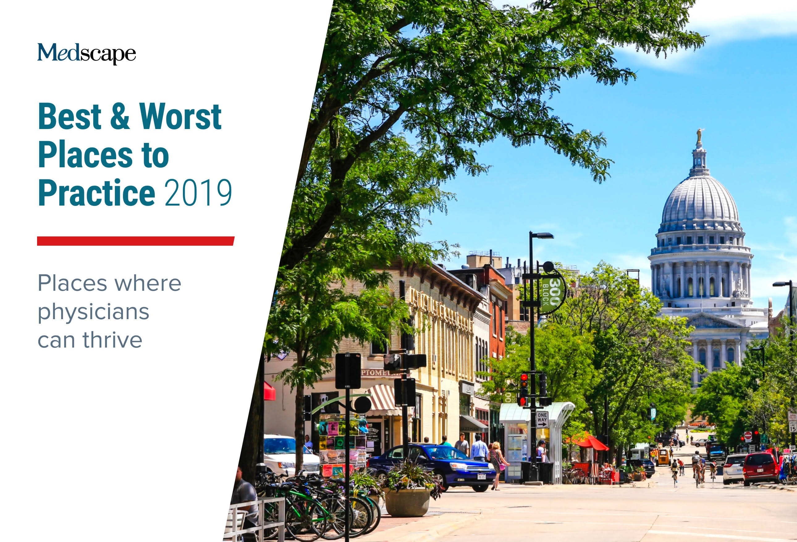 Best & Worst Places to Practice 2019