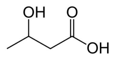 Beta-hydroxybutyrate.