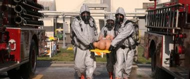Chemical warfare mass casualty management. Courtes
