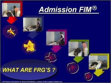Admission FIM® instrument rating. Impairment type