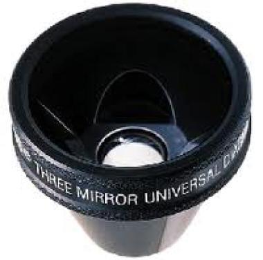 The Goldmann 3-mirror lens.