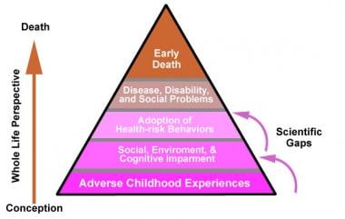 Adverse child experiences pyramid.