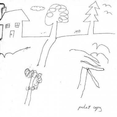 Kids Tree House Drawing treehouse of paper with drawing on it paper with english on it