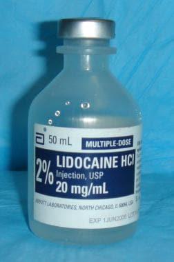 Lidocaine 2%.